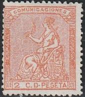 1873. * Edifil: 131. ALEGORIA DE ESPAÑA - Neufs