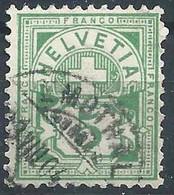 Ziffer 65B, 5 Rp.grün  EMDTHAL          1904 - Gebruikt