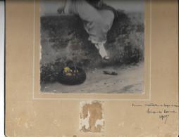 LUIGI DI SAVOIA - DUCA DEGLI ABRUZZI , AUTOGRAFO SU VECCHIO CALENDARIO , 1900 . - Autographes