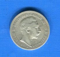 All  2  Mark 1902 - 2, 3 & 5 Mark Argent