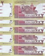 SUDAN 2 POUNDS 2017 P-71 New LOT X5 UNC NOTES */* - Sudan