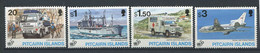 299 PITCAIRN 1995 - Yvert 452/55 - Camion Bateau Croix Rouge Avion - Neuf ** (MNH) Sans Charniere - Pitcairn Islands