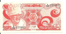 SOUDAN 25 PIASTRES 1983 AUNC P 23 - Sudan