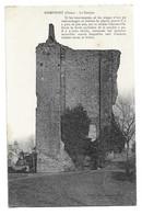 Domfront  - Le Donjon Cachet 4 Eme Corps D'armée Hopital Temporaire 27 Aout 1915 Courrier Infirmier - Domfront