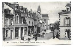 Alençon - Rue Des Tisons Et L'Eglise De Monsort - Alencon