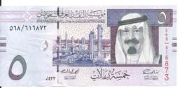 ARABIE SAOUDITE 5 RIYALS 2012 UNC P 32 C - Saudi Arabia