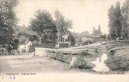 FORVILLE - Pont De Seron - Avec Attelage - Fernelmont