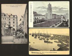 Conjunto De 3 Postais Dos AÇORES / Ponta Delgada / S.Miguel. Set Of 3 Old Postcards AZORES Portugal - Açores