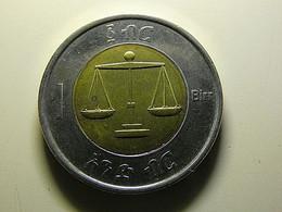 Ethiopia 1 Birr - Ethiopia