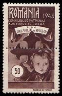 ROMANIA - CINDERELLA / TAXE : AJUTORUL DE IARNA / ZIUA ORFANILOR DE RAZBOI - 50 LEI - 1943 - MNH (ag903) - Fiscaux