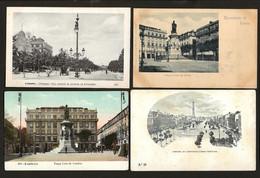 Conjunto De 4 Postais Antigos: LISBOA. Ediçao Martins & Silva + Jeronymo Martins,etc. Set 4 Old Postcards PORTUGAL 1900s - Lisboa
