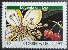 URUGUAY 1999 Flowers - Self-Adhesive. USADO - USED. - Uruguay