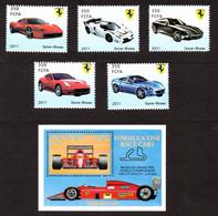 GUINE-BISSAU - MALDIVES - Ferrari - Autos
