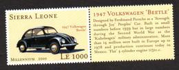 Sierra Leone - Volkswagen  - VW - Beetle - Kever - Coccinelle - Coches