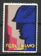 Reklamemarke Milano, Fiera, Hermes Und Schornstein - Cinderellas
