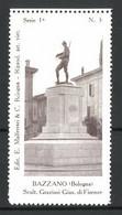 Reklamemarke Serie: Bologna Riprod. Art. Viet. 1a, Bild 3, Bazzano, Scult. Graziosi Gius. Di Firenze - Cinderellas