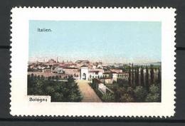Reklamemarke Serie: Italien, Bologna, Panorama - Cinderellas