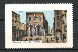Reklamemarke Serie: Italien, Bologna, Foro Dei Mercanti - Cinderellas