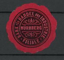Präge-Reklamemarke Bank Für Handel Und Industrie Nürnberg - Cinderellas