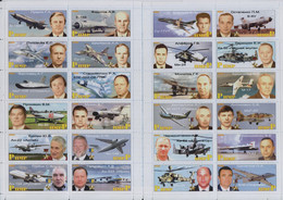 Fantazy Labels / Private Issue. Air Force Aviation Test Pilots And Designers Of The USSR And The Russian Federation 2021 - Fantasy Labels