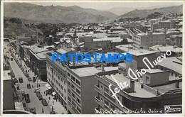 157847 BOLIVIA LA PAZ AVENIDA GRAL CAMACHO VISTA AEREA POSTAL POSTCARD - Bolivia