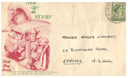 (NN 19) Australia - New Postal Fee (postman Pick-up Up Mail At Letter Box) - Post