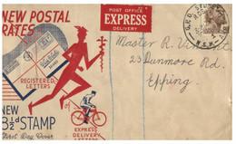 (NN 19) Australia - FDC - New Postal Rate 8 1/2 - Post
