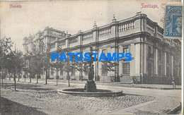 157874 CHILE SANTIAGO BUILDING EDIFICIO MONEDA YEAR 1907 POSTAL POSTCARD - Chile