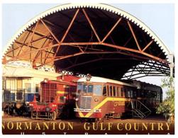 (NN 20) Australia - QLD - Normanton (with Railway Museum) - Museen