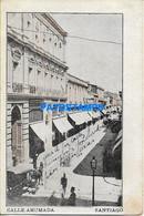 157901 CHILE SANTIAGO STREET CALLE AHUMADA POSTAL POSTCARD - Chile
