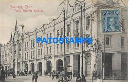 157907 CHILE SANTIAGO PORTAL EDWARDS ALAMEDA POSTAL POSTCARD - Cile
