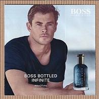 CC Carte Parfumée 'BOSS' #3501perfume Card 5x5 - Modern (from 1961)