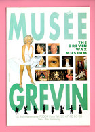 LE MUSÉE GREVIN . THE GREVIN WAX MUSEUM . MARILYN MONROE . PARIS . CART'COM - Réf. N°30330 - - Museen