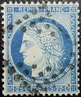 N°60A. Cérès 25c Bleu. Oblitéré.... - 1871-1875 Ceres