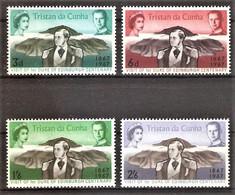 Tristan Da Cunha Mi.Nr. 112-115 ** Prinz Alfred Von Sachsen-Coburg Und Gotha 1967 / Kompletter Satz ! - Tristan Da Cunha