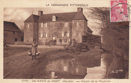 Sainte(Marie-du-Mont.  Manoir De La Houssaye - Other Municipalities