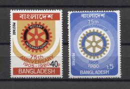 Bangladesh Rotary 1980 Mi#131-132 MNH - Bangladesh