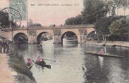 B21-94) JOINVILLE LE PONT - LES REGATES - ( ANIMEE - COULEURS ) - Joinville Le Pont