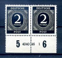 KONTROLLRAT 1946 Nr 912 Postfrisch (408373) - American,British And Russian Zone