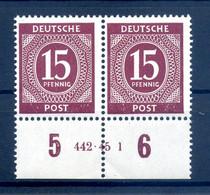 KONTROLLRAT 1946 Nr 921 Postfrisch (408379) - American,British And Russian Zone