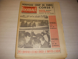 FRANCE FOOTBALL 1095 07.03.1967 REAL MADRID INTER MILAN Just FONTAINE BASTIA - Other