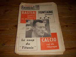 FRANCE FOOTBALL 1159 18.06.1968 EUROPE MILAN AC MANCHESTER ITALIE ALLEMAGNE - Other