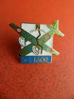 Pins Pin's - émail  EGF Militaire Avion Aviation Transall C 160 R  - Signé Agnes Moulin - Army