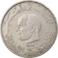 Monnaie, Tunisie, Dinar, 1976, TB+, Copper-nickel, KM:304 - Tunisia