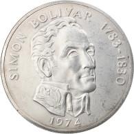 Monnaie, Panama, 20 Balboas, 1974, U.S. Mint, TTB+, Argent, KM:31 - Panama