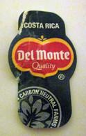 Del Monte Costa Rica Mini Etichetta Fruit Frutta Adesiva Usata - Fruit En Groenten