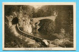Strasse Nach Kurort Flühli (Entlebuch) 1923 - LU Lucerne