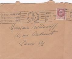 Enveloppe Paris XVII Av. De Wagram - Covers & Documents