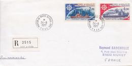 TAAF - Saint-Paul Et Amsterdam - Courrier Recommandé – H05 - Storia Postale