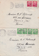 2 Cover München To Paris - Covers & Documents